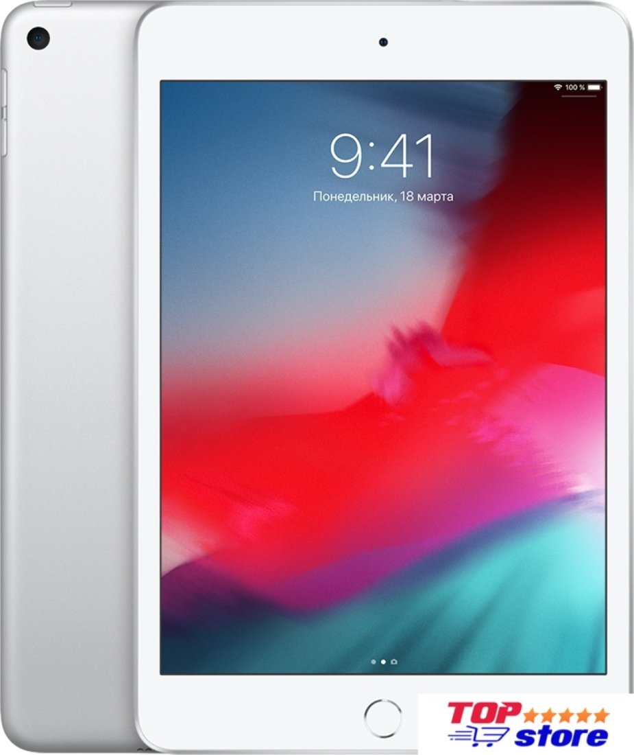 Планшет Apple iPad mini 2019 256GB MUU52 (серебристый)