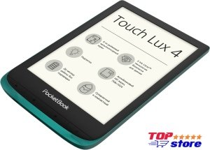 Электронная книга PocketBook Touch Lux 4 (изумрудный)